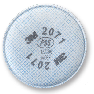 Filter Particulate P95 2/pack 3M 2071