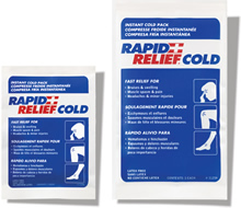 """Instant Cold Pack 5""""x9"""" Rapid Relief"""