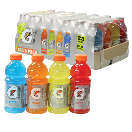 Gatorade Variety Pack Energy Drink 28x591ml