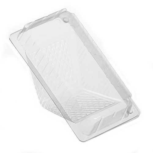 Container Sandwich Large 6x3x3-1/4 Wedge Clear 500/cs