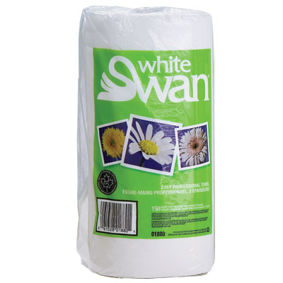 Paper Towels White Swan 150sht x 24/cs