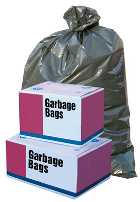 Garbage Bags 35x50 X-Strong Black 150/case
