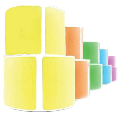 Colour Thermal Labels