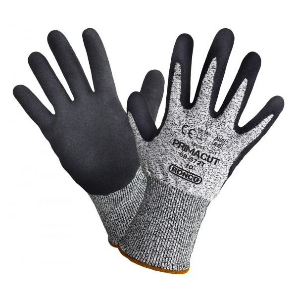 Sandy Nitrile Palm Coated Touch Compatible