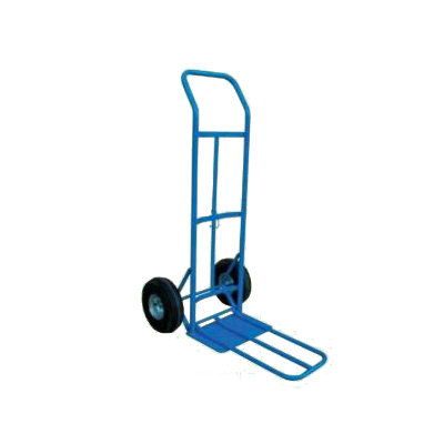 Hand Truck Loop Handle with Fold Down Toe Plate 800lb cap