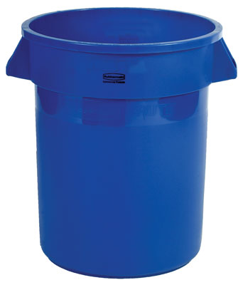 Container 32 gal Blue