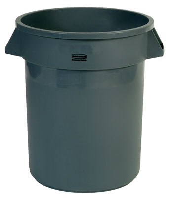 Container 32 gal Gray