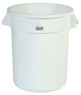 Container 32 gal White