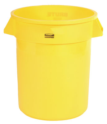 Container 32 gal Yellow