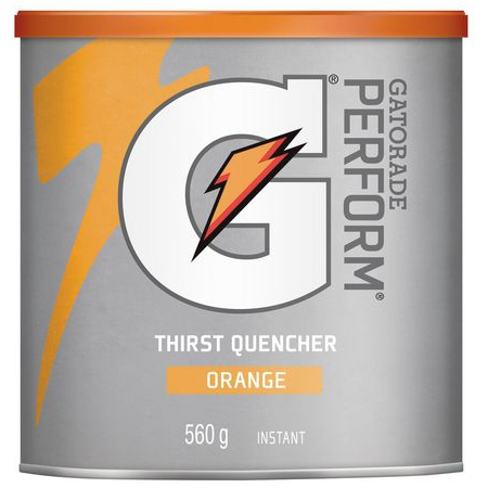 Gatorade Instant Powder 560g Orange
