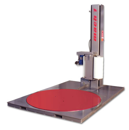 Stretch Wrap Machine Sonic LPS Semi-AutoMatic Low Profile