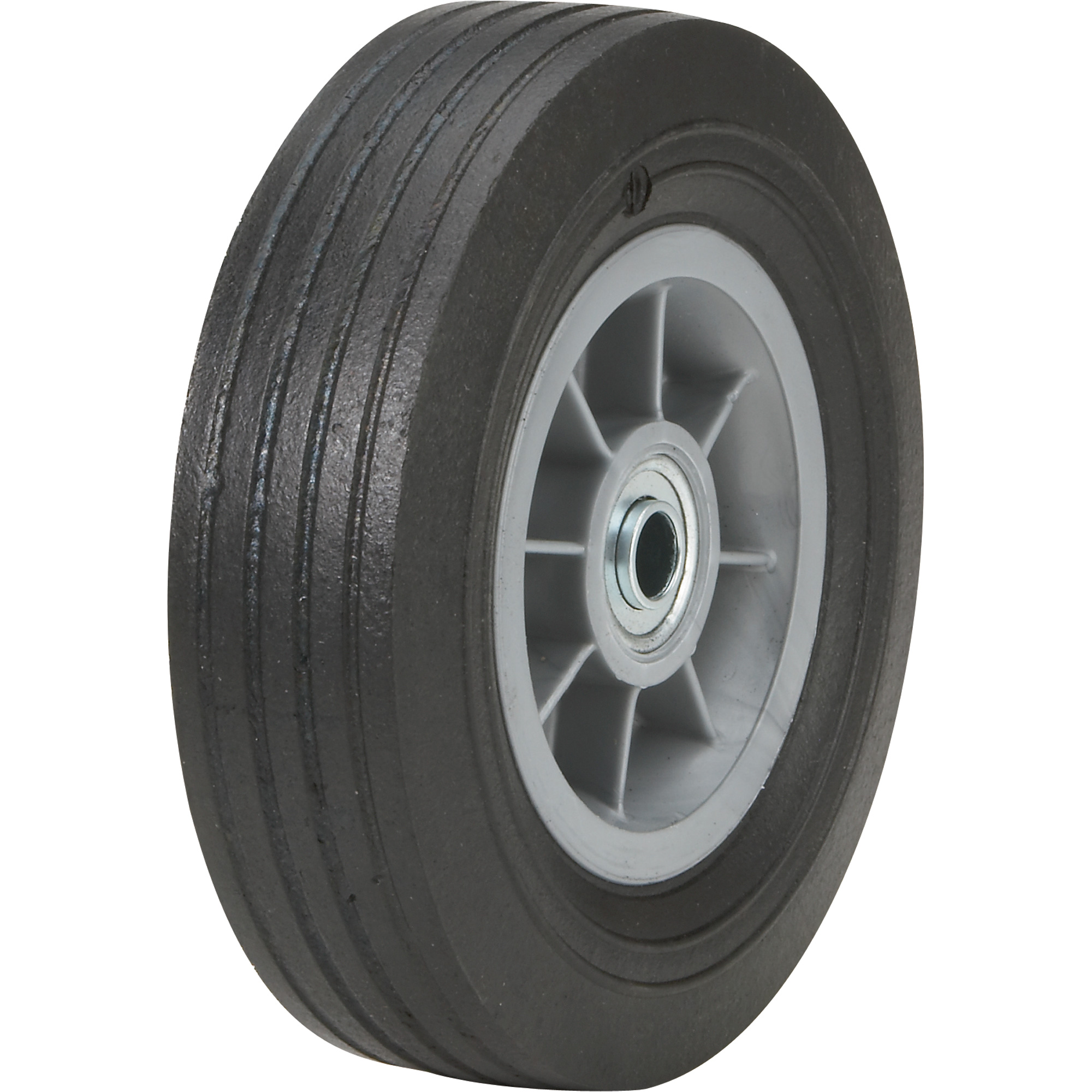 """Replacement Wheel Solid Rubber 8"""" 8SR"""