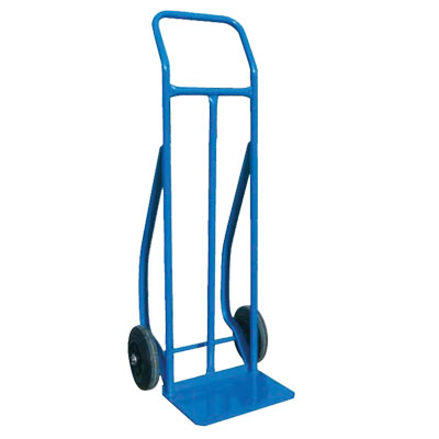 """Hand Truck Loop 8"""" rubber with stair"""