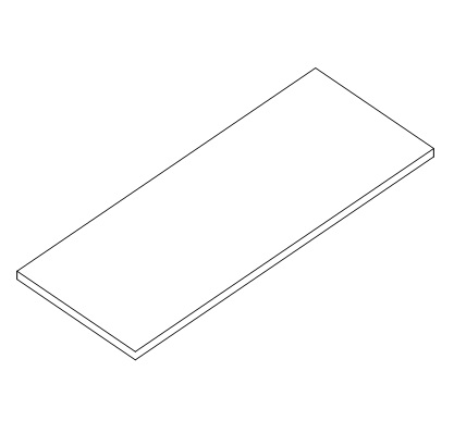 Metal Storage Shelf for Scale Table D-9021-A