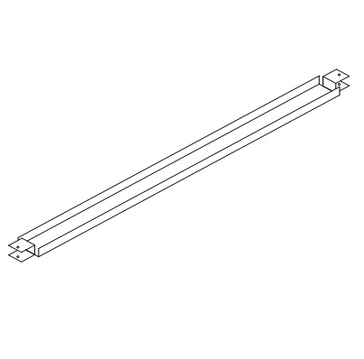 """Light Mounting Channel 58-7/8"""" long. D-9036"""