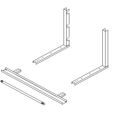 """Table Stand for Cutters for EC-3648, 48""""L.  TSEC-48"""