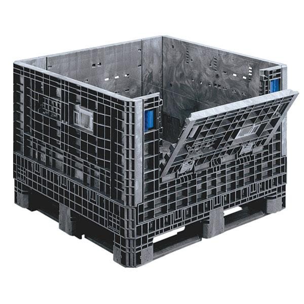 Container Collapsible Bulk 48x45x34 Black