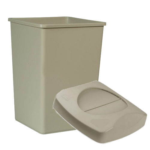 Untouchable Containers and Lids