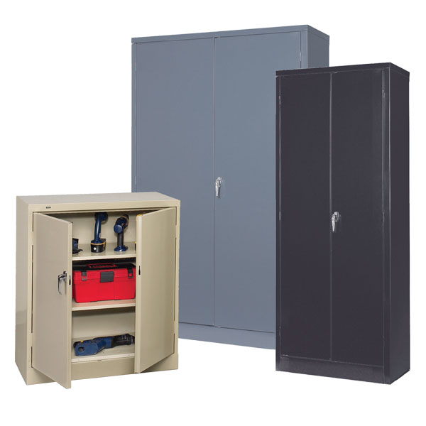 Storage Cabinets 225lb Shelf Capacity