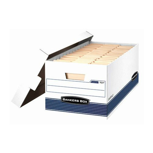 Bankers Box Econo-Stor File 12x10x24 White Letter Size