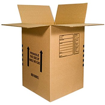 Box 18x18x24 32C Large Moving 4.5 Cubic Ft. Printed Room Locator 20/120