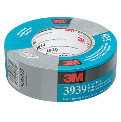Tape 3939 Duct 48mm x 54.8m 3M Silver