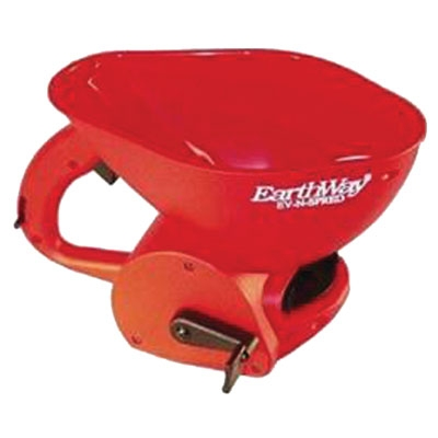 Hand Held Ice Melter Spreader For Use with Ice Melters, Grass Seed and fertilize