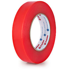 Tape Double Sided Film Y4960 24mm x 55m 8 Mil Acrylic With Red PP Liner