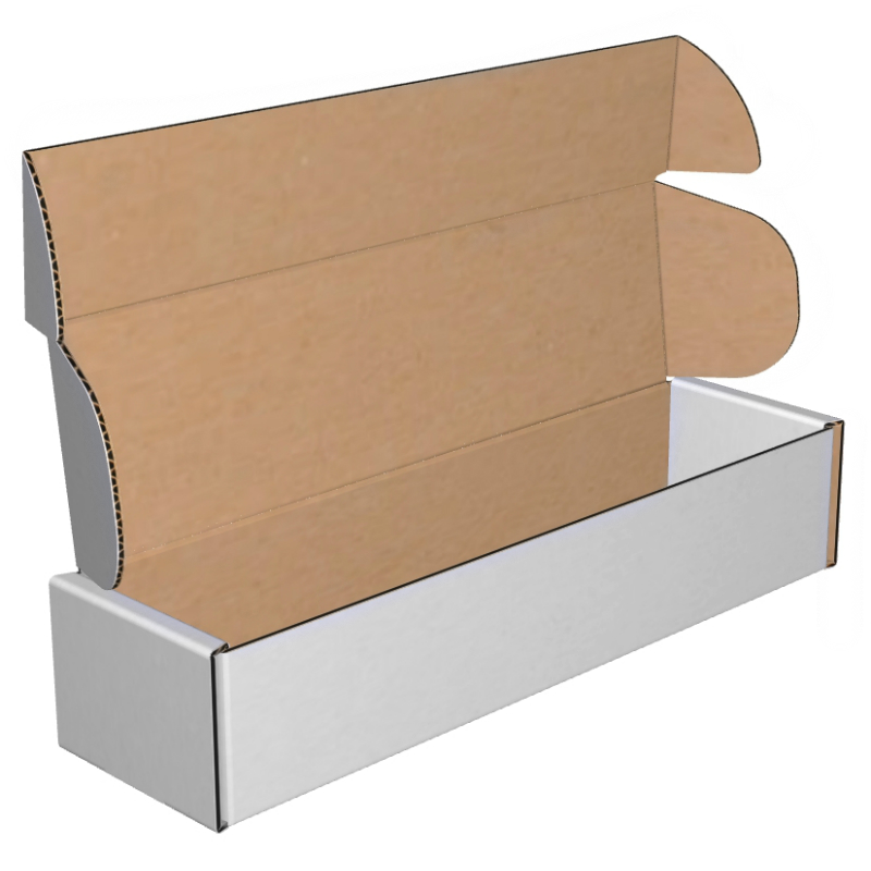 Mailers Corrugated Deluxe Literature 14x3-3/4x2-3/4 32B White