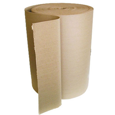 "Corrugated Roll 50""x250' Single Face Wrap (8/sk)"