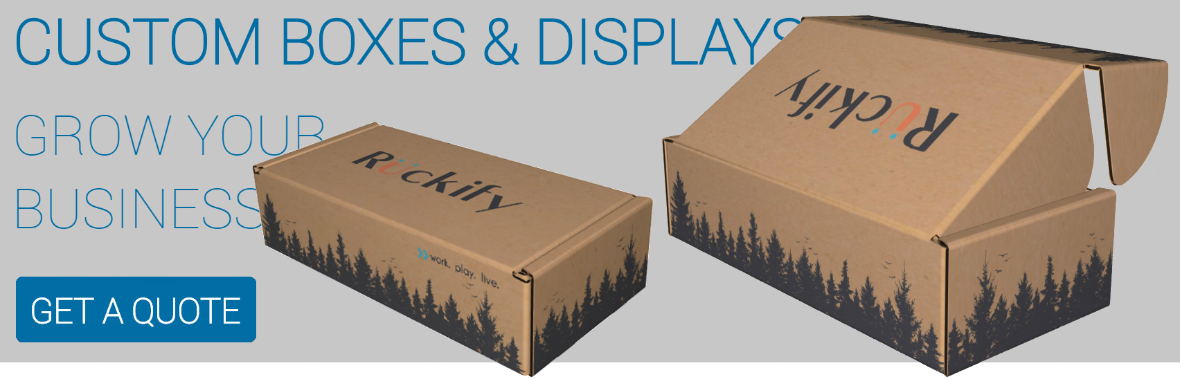 Corrugated boxes shipping packaging supplies whitebird custom boxes displays reheart Gallery